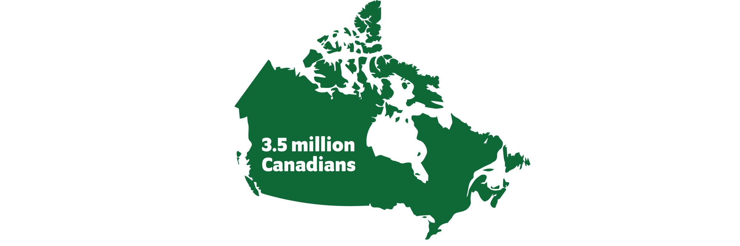Map of the 3.5 million Canadians who currently have cataracts